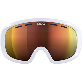 POC Fovea Mid Clarity Gafas, hydrogen white/spektris orange